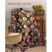 Quiltmania Button Box Quilts - 2 sided reversible quilts by Vicki Hodge by Quiltmania - Quiltmania