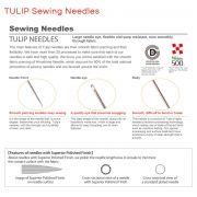 Tulip Sashiko Needles Assorted Long by Tulip - Hand Sewing Needles