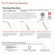 Tulip Applique Needles #11 by Tulip - Hand Sewing Needles
