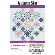 Alabama Star Complete Paper Piecing Pack by Paper Pieces - Paper Pieces Kits & Templates