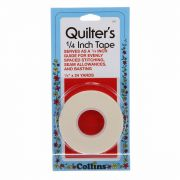 Quilters Tape 1/4 inch wide x 24 yards by Collins by Collins Marking Tape - OzQuilts