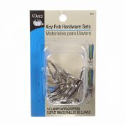 Key Fob Hardware 5 Sets per pack by Dritz - Hardware for Bags
