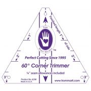 60 Degree Corner Trimmer by Marti Michell - Geometric Shapes