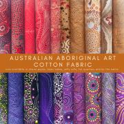 Aboriginal Art Fabric 20 Fat Quarter Bundle G by M & S Textiles Fat Quarter Packs - OzQuilts