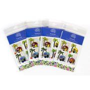 Wendy Williams Pre-Cut Wool Applique Pack - Caravan Blue by Wendy Williams of Flying FIsh Kits - PreCut Wool Kits