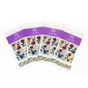 Wendy Williams Pre-Cut Wool Applique Pack - Little Bird Aqua by Wendy Williams of Flying FIsh Kits - PreCut Wool Kits