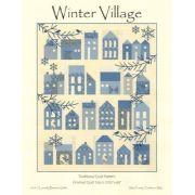 Winter Village Quilt Pattern by Edyta Sitar by Laundry Basket Quilts - Laundry Basket Quilts/Edyta Sitar