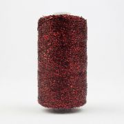 Sizzle - Christmas Red (SM24) by Wonderfil Sizzle 8wt Rayon & Metallic - Sizzle 8wt Rayon & Metallic