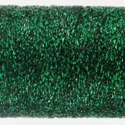 Sizzle - Christmas Green (SM6) by Wonderfil Sizzle 8wt Rayon & Metallic - Sizzle 8wt Rayon & Metallic