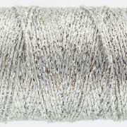 Sizzle - Silver (SX1) by Wonderfil Sizzle 8wt Rayon & Metallic - Sizzle 8wt Rayon & Metallic
