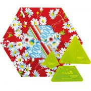 Matilda's Own All Pied Up Patchwork Template Set by Matilda's Own Quilt Blocks - OzQuilts