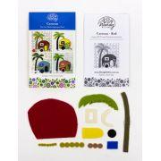 Wendy Williams Pre-Cut Wool Applique Pack - Caravan Red by Wendy Williams of Flying FIsh Kits - PreCut Wool Kits