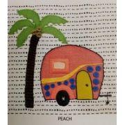 Wendy Williams Pre-Cut Wool Applique Pack - Caravan Peach by Wendy Williams of Flying FIsh Kits - PreCut Wool Kits