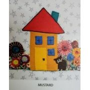 Wendy Williams Pre-Cut Wool Applique Pack - Little House Mustard by Wendy Williams of Flying FIsh Kits - PreCut Wool Kits