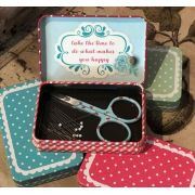 Magnetic Travel Pin Box by Riley Blake by Riley Blake Designs Organisers - OzQuilts