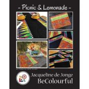 Picnic and Lemonade Quilt Pattern & Foundation Papers by Jacqueline De Jonge by BeColourful Quilts by Jacqueline de Jongue - Patterns & Foundation Papers