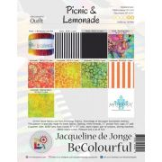 Picnic and Lemonade Quilt Pattern & Foundation Papers by Jacqueline De Jonge by BeColourful Quilts by Jacqueline de Jongue Patterns & Foundation Papers - OzQuilts