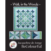Walk in the Woods Quilt Pattern and Foundation Papers by Jacqueline De Jonge by BeColourful Quilts by Jacqueline de Jongue - BeColourful - Jacqueline de Jongue
