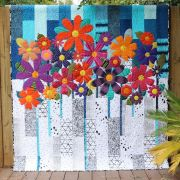 Indah Blossoms Quilt Pattern by Carolyn Murfitt of Free Bird Quilting by Free Bird Quilting Designs Quilt Patterns - OzQuilts