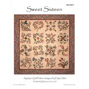 Sweet Sixteen Quilt Pattern by Edyta Sitar of Laundry Basket Quilts by Edyta Sitar of Laundry Basket Quilts Quilt Patterns - OzQuilts