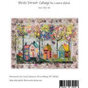 Birch Street Collage by Laura Heine by Fiberworks Collage  - OzQuilts