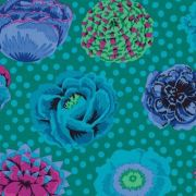 Big Blooms - Emerald by The Kaffe Fassett Collective - Big Blooms