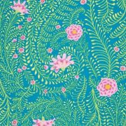 Ferns - Turquoise by The Kaffe Fassett Collective - Ferns