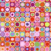 Tiddlywinks - Red by The Kaffe Fassett Collective - Tiddlywinks