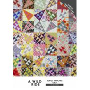 A Wild Ride Quilt Patchwork Templates by Jen Kingwell Designs by Jen Kingwell Designs Jen Kingwell Designs Templates - OzQuilts