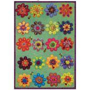 Sue Spargo Sampler Series : Flower Play - includes template and pattern by Sue Spargo - Sue Spargo