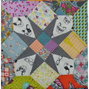 4 Patch Star Tempter Patchwork Template set by Jen Kingwell Designs by Jen Kingwell Designs Jen Kingwell Designs Templates - OzQuilts