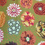 Big Blooms - Brown by The Kaffe Fassett Collective - Big Blooms