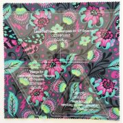 """Large Half Hexagon Template for 10"""" Squares by OzQuilts - OzQuilts Templates"""