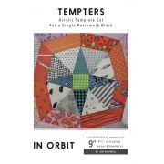 In Orbit Tempter Patchwork Template set by Jen Kingwell Designs by Jen Kingwell Designs - Jen Kingwell Designs Templates