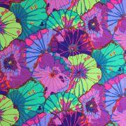 Lotus Leaf - Purple by The Kaffe Fassett Collective - Lotus Leaf
