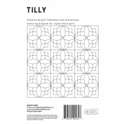 Tilly Tempter Patchwork Template set by Jen Kingwell Designs by Jen Kingwell Designs Jen Kingwell Designs Templates - OzQuilts