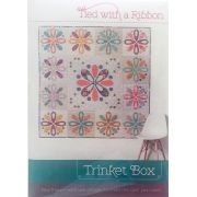 Trinket Box Quilt Pattern by TIed with a Ribbon by Tied with a Ribbon Applique - OzQuilts