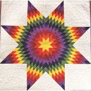 """Quiltsmart 38"""" & 58"""" Lone Star Diamond Fussy Cut Acrylic Template by Quiltsmart - Quiltsmart Kits"""