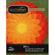Quiltsmart Dahlia Pattern & Printed Fusible Interfacing Quilt Kit by Quiltsmart - Quiltsmart Kits