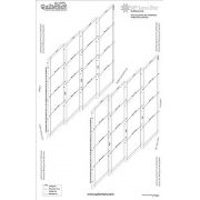 """Quiltsmart 38"""" Lone Star Printed Interfacing Panel by Quiltsmart - Quiltsmart Kits"""