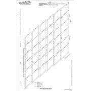 "Quiltsmart 58"" Lone Star Printed Interfacing Panel by Quiltsmart Quiltsmart Kits - OzQuilts"