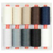 Rasant 1000m Boxed Set of Threads - Basics by Rasant Thread Sets - OzQuilts