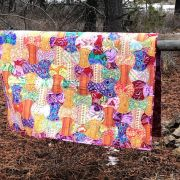 Quiltsmart Apple Core Pattern & Printed Fusible Interfacing Quilt Kit by Quiltsmart - Quiltsmart Kits