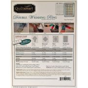 Quiltsmart Double Wedding Ring Pattern & Printed Interfacing Quilt Kit by Quiltsmart - Quiltsmart Kits