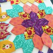 Lucy Boston Patchwork of The Crosses Basic Block 1 inch Halo Template Set by  EPP Templates - OzQuilts