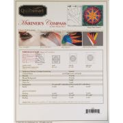 Quiltsmart Mariner's Compass Pattern & Printed Fusible Interfacing Quilt Kit by Quiltsmart - Quiltsmart Kits