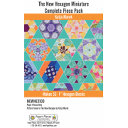 The New Hexagon Miniature Complete Piece Pack by Paper Pieces - EPP Papers