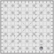 "Creative Grids Charming Itty Bitty Eights Square XL 15"" x 15"" Quilt Ruler by Creative Grids - Square Rulers"