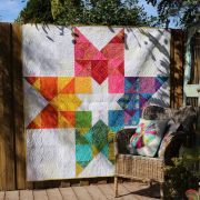In 2 Stars Quilt Pattern by Free BIrd Designs by Free Bird Quilting Designs - Quilt Patterns