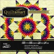 Quiltsmart Bitty Broken Lone Star Pack by Quiltsmart - Quiltsmart Kits